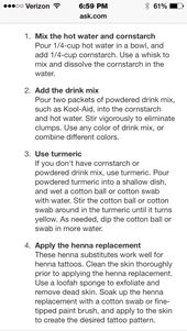 How To Make Henna Without Henna Powder Awesome Cuz I Want To Do It But Don T Have The Powder Henna Tattoo Diy How To Make Henna How To Do Henna
