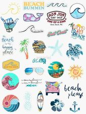 Summer Sticker Pack