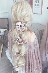 50+ 24 Haarschmuck für die Braut, um Ihre Frisur zu inspirieren ❤ Mehr dazu: … – Hochzeit Haar Ideen