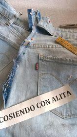 Cosiendo Con Alita Como Reducir La Cintura Del Pantalon Jeans En 2020 Pantalón A La Cintura Pantalones Jeans Pantalones