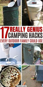 Camping Hacks For Women