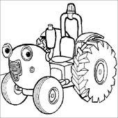 19 Premier Coloriage Tracteur Tom Images Di 2020