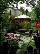 14+ Indescribable Cottage Backyard Garden Walks Ideas – #backyard #cottage #gard…  – gardening landscaping