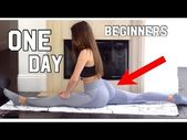 How to get your splits in ONE DAY (SIMPLE, FAST, EASY) for BEGINNERS