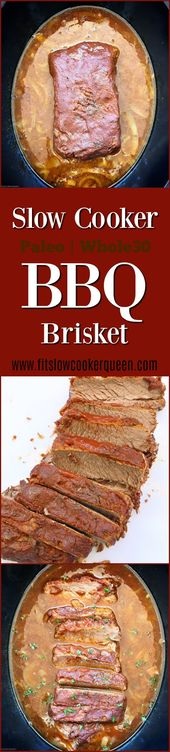 Slow Cooker BBQ Brisket (Paleo/Whole30)