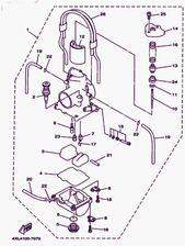 1998 Yamaha Yz250 Carburetor Diagram In 2021 Yamaha Carburetor Yamaha Raptor 700