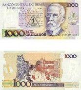 Brazil Set Of 24 Cruzeiro And Cruzados Notes Moedas Antigas Do