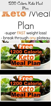 1200 Calorie Keto Meal Plan – Weight loss