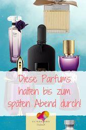 Parfum das lange hält: 6 Düfte, die den Arbeitst…