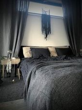 Fenster Hinter Dem Bett Schlafzimmer Ideen Vorhang Hinter Dem Bett Traumfanger Skandinavisch Gardenia Gardena Land Curtains Behind Bed Window Behind Bed Bed