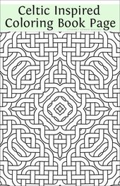 Fancy Celtic Coloring: The Sequel | Literary Spring Designs