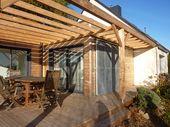 Extension de plein pied en toit terrasse 50 m2 sur maison récente traditionnell…