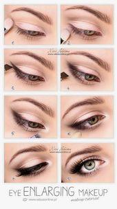 10 einfache, schrittweise Eyeliner-Tutorials für Anfänger – Make-up-Tutorials   – Schönheit
