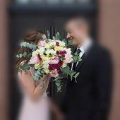 # Brautstrauß #in der Nähe von insgesamt # Hochzeitsstrauß # Brautstrauß rot …   – Brautstrauß