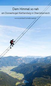 Der Donnerkogel Klettersteig in Oberösterreich