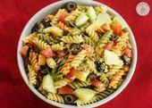 Salade de pâtes italienne simple – Idées de repas – #simple #Idées #Italienis …   – Salat