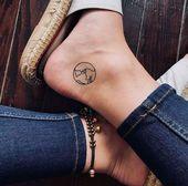 Diese über 40 winzigen Tattoos machen Lust auf Farbe – Katie Lawton – #women … #diytattooimages – diy tattoo images