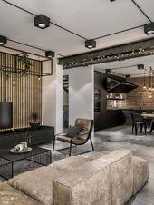 20+ Gute Einrichtungs- und Loft-Design-Ideen im Industriestil