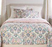 3-Piece Queen Jacobean Comforter Set by Valerie — QVC.com