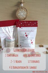 Instructions, Ingredients, Glühweinzucker, Stampin & # 39; …