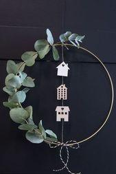 DIY – Machen Sie einen Kranz für die Tür – Places Like Heaven