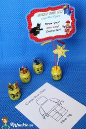 Zeichnen Sie Ihre eigenen Lego-Minifiguren   – Lego Ideen