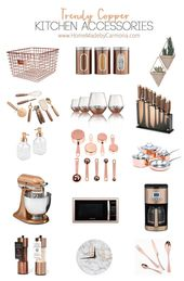 Trendy Copper Kitchen Accessories – Home Made By Carmona