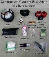 Faire ses valises pour une randonnée avec une famille de quatre personnes   – Camping Places