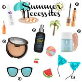 Summer Necessities! Quay Sunglasses, makeup, cat ears and more!