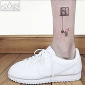 25 adorables diseños minimalistas de tatuajes del ex dibujante Ahmet Cambaz   – Tattoo designs