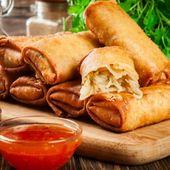 سبرنج رول بالدجاج مطبخ سيدتي Recipe Empanadas Food Recipes