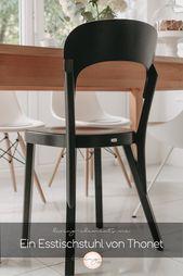 Unser Neuer Thonet Stuhl 107 Ein Designklassiker Fur Den Esstisch Thonet Stuhle Stuhle Bugholzstuhle