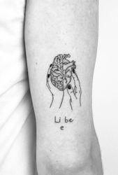 Linework Herz Tattoo Designs – #designs #heart #Linework #Tattoo – Alles Pinnes…