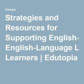 Strategien und Ressourcen zur Unterstützung von Englischlernenden