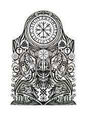 Significado del tatuaje vikingo: descubre los secretos de la mitología nórdica   – Alle Tätowierungen