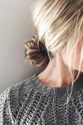 Diese schnellen, einfachen Frisuren sind wirklich erstaunlich. #quickeasyhairstyles #Easyhairsty