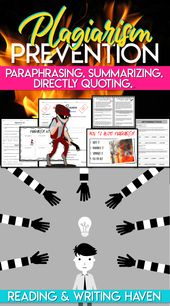 Avoiding Plagiarism: Educating Suggestions and Lesson Plans | Studying and Writing Haven