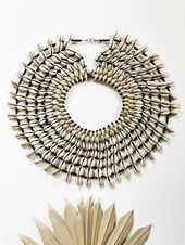 Africa Handmade Of the Amazon Cowrie Cape