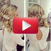 Bridal Hairstyles Half-Open Side # Hairstyle Wedding Guest