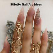 30 große Stiletto Nail Art Design-Ideen 1 #nails