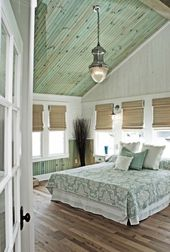 33 Stunning bedroom retreat with vaulted ceilings   – Inspiration