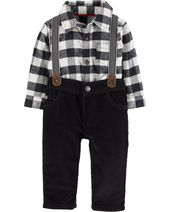 f34f2edbc3d3 Baby Boys  2-Piece Jacquard Shirt