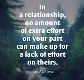75 Effort in Relationship Quotes, Sayings and Images – Relationship effort quotes