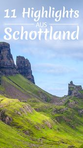 Meine 11 Highlights in Schottland