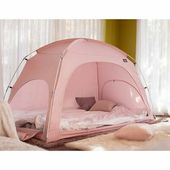 e-Joy Warm Cozy Privacy Bed Play Tent Color: Light Blue