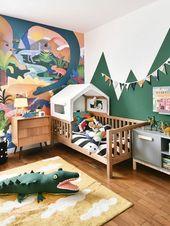 Kinderzimmer Ideen | Kinderzimmer | Kinderzimmer Wandgestaltung | Kinderzimmer e… – DIY Ideen