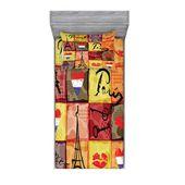 East Urban Home CollageColorful Hearts Eiffelturm Französische Flagge und Paris Schriftzug Blatt Set Größe: Twin XL – Products