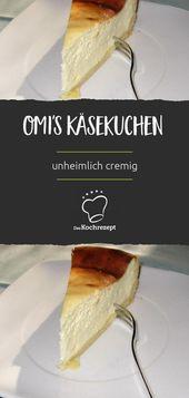 Gâteau au fromage d'Omi