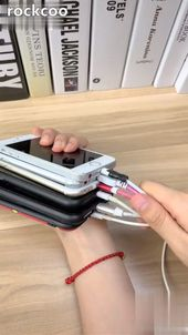 Magnetisches Datenkabel Android Apple TypeC Handy-Ladekabel   – Organisation Zuhause