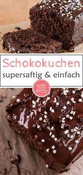 Der beste Schokoladenkuchen – M backt